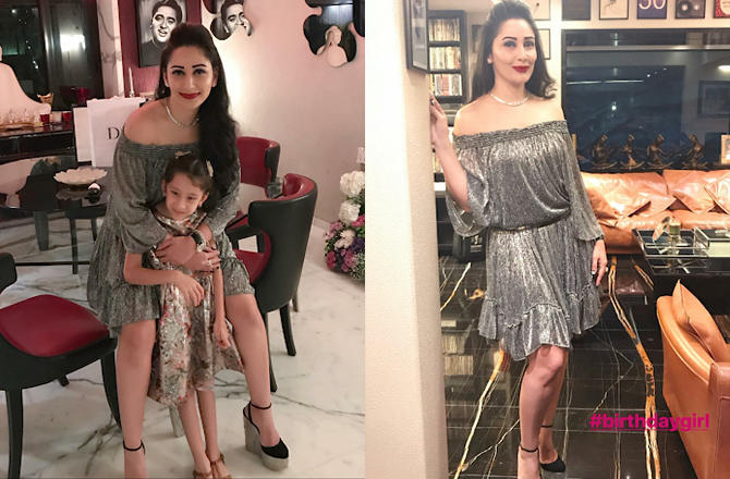 Sisters Namrata and Priya were also present. It went on till the wee hours of the morning. Maanayata sported a hot blingy dress and the lady looked just goregous!
