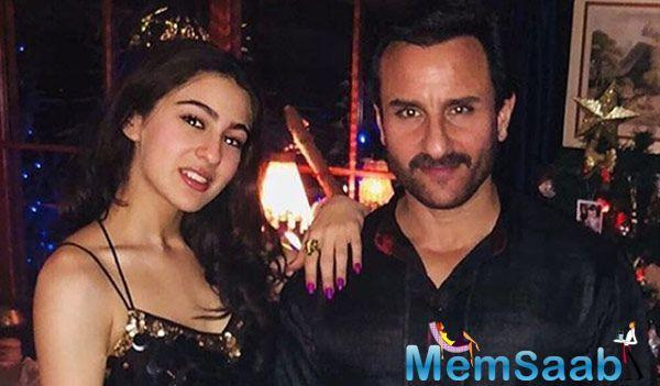 """When asked if he is anxious about Sara's debut, Saif replied, """"I am confident she will do very well. She is in the right hands. I am not nervous anymore."""""""