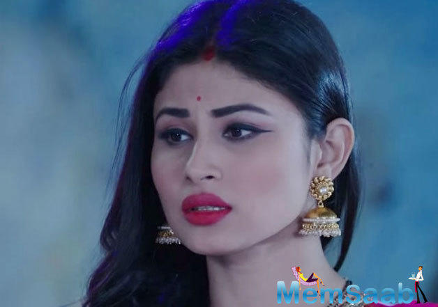 There was some speculation about who would be romancing Mouni on the show.