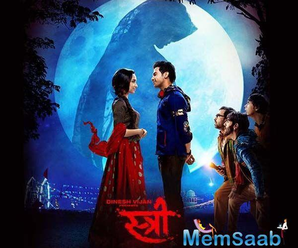 Talking about Stree, which is reported to be a horror-comedy, is written by Raj and DK, who are known for films like Shor in the City, Go Goa Gone, Happy Ending and A Gentleman.