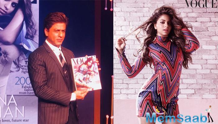 KJo's wish comes after King Khan unveiled his 18-year-old's first ever magazine cover.