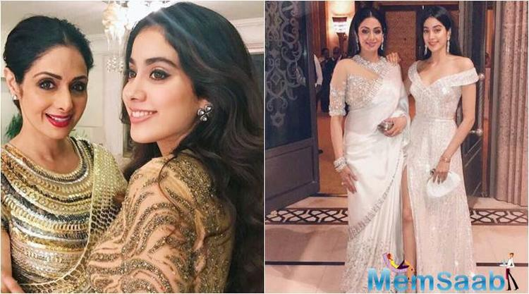 Moreover, there's something very special that's played a part in her beauty, her mother, legendary Sridevi's secret way to make oil and give her massage, a thing the debutante will surely miss now.