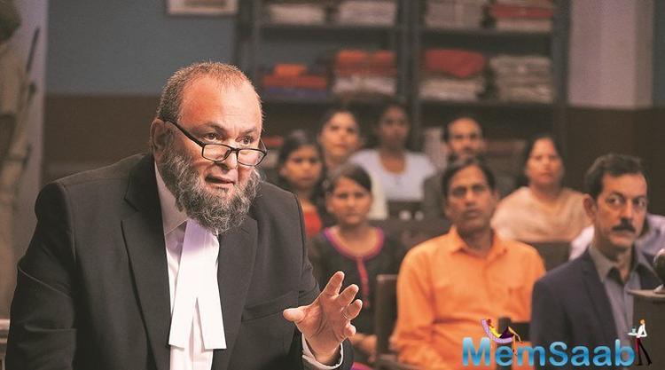 Mulk co-producer and presenter Deepak Mukut of Soham Rockstar Entertainment is disheartened.