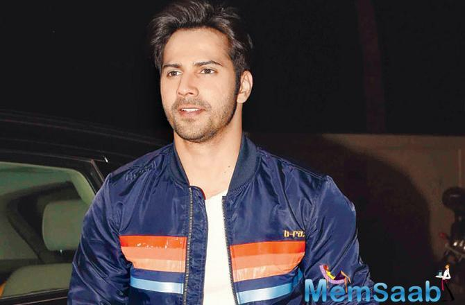 Varun Dhawan is the latest celebrity to join the countdown of much awaited trailer of Salman Khan Film's Loveratri which releases on Monday.