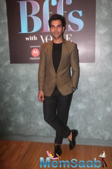 Rajkummar Rao welcomed actors Mouni Roy and Boman Irani in