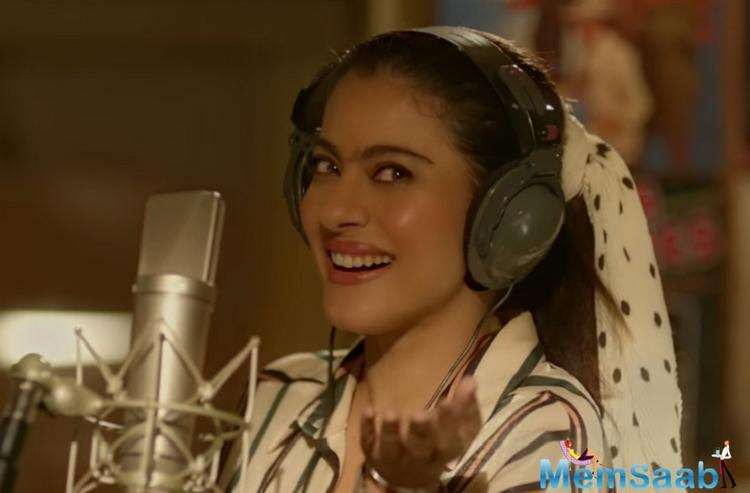 Kajol is phenomenal playing the character of a quirky yet an over-protective mother, which leads to differences between the mother and son's relationship. She also aspires to be a singer.