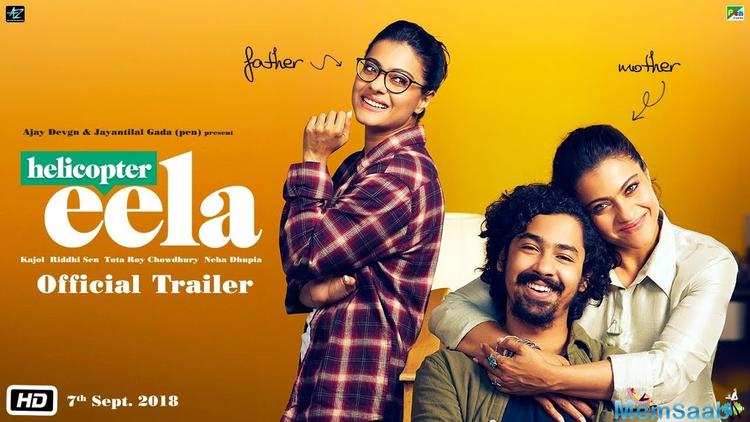 On the special occasion of Kajol's 44th birthday, the makers of Kajol's film, 'Helicopter Eela' decided to unveil its trailer on that day, which is Sunday, August 05.