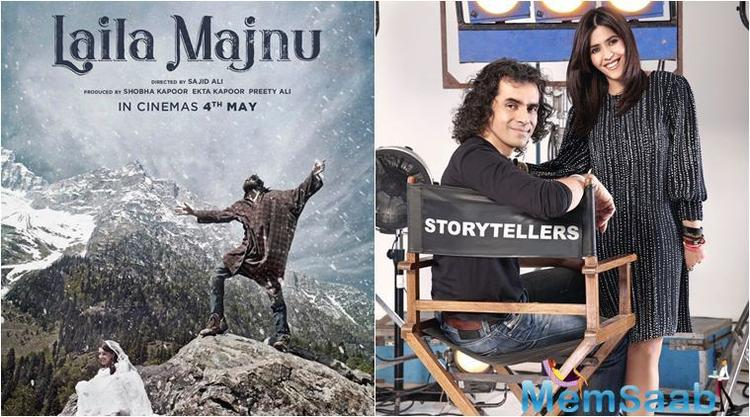 'Laila Majnu' is set in Kashmir and the story revolves around Kais (Avinash Tiwary) and Laila (Tripti Dimri) whose journey of love is filled with insurmountable obstacles.