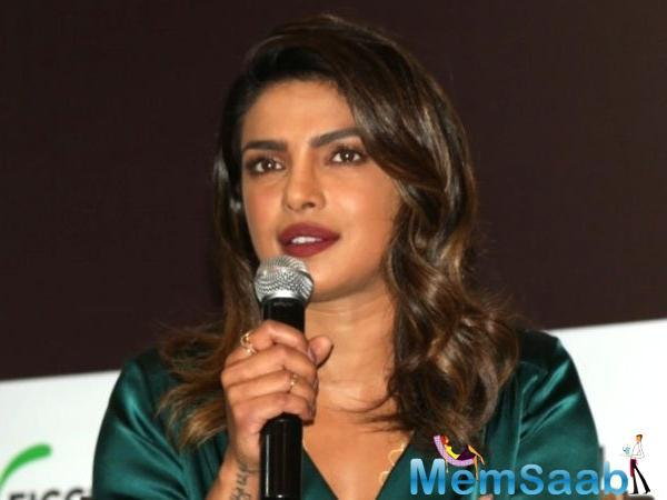 """It's my dream to be able to play a man… That's the next thing I want to do,"" added the actress, who also expressed a desire to do Broadway as she loves watching theatrical productions when Priyanka Chopra is in New York."