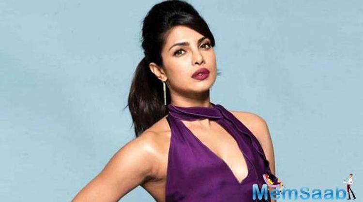 Priyanka Chopra says she spent an emotional night at her mother Madhu Chopra's home.