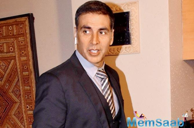 Akshay Kumar is currently busy promoting his historical drama Gold.