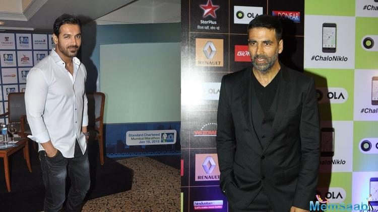 He may have done a spate of patriotic and issue-based films recently but don't slot Akshay Kumar into a category just yet.