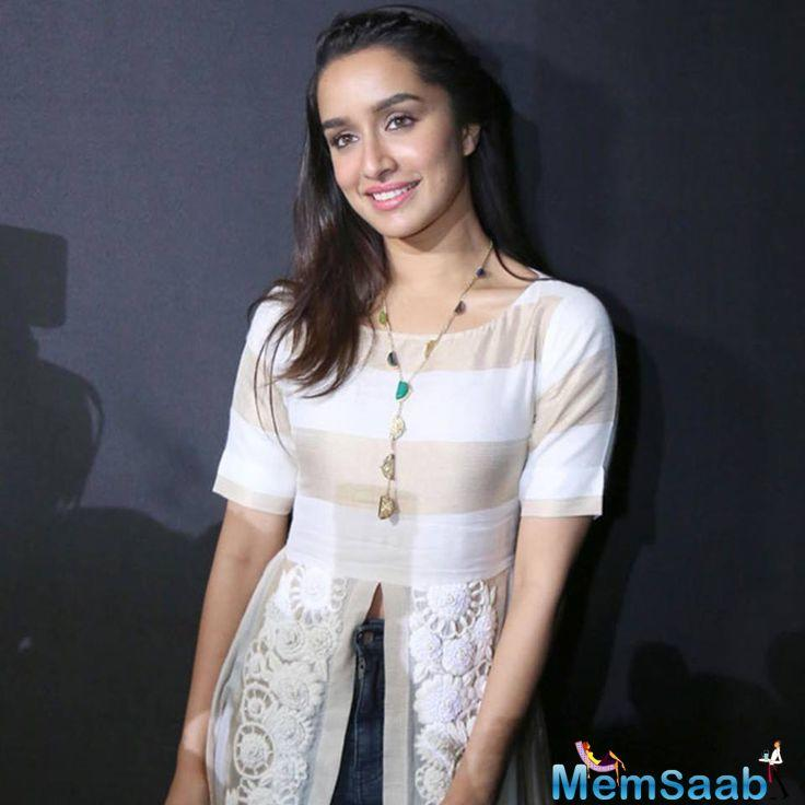 While the crystal did help Shraddha relax a little bit, director Amar Kaushik liked how the crystal pendent was merging with her look and made it part of Shraddha's character.