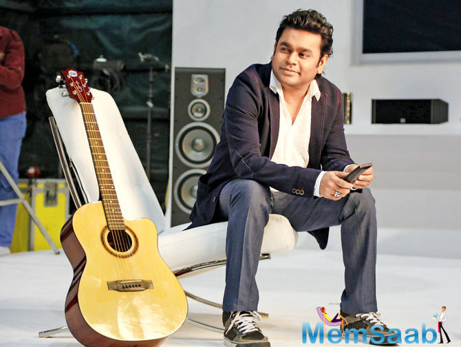 Rahman who is away in the US for a concert tour had stated he was impressed with the whole idea.