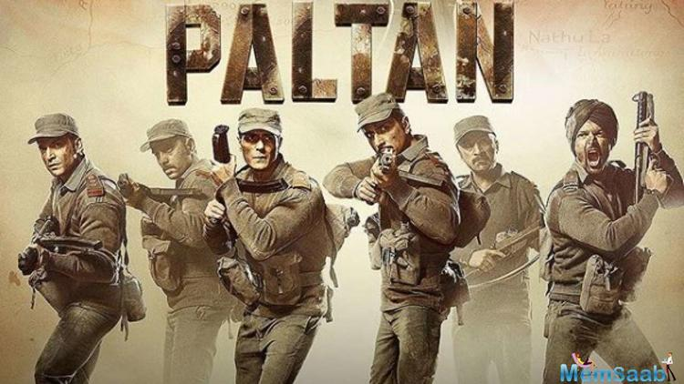 Renowned filmmaker JP Dutta returns to direction after 12 years with Paltan. The national-award winning director had earlier treated the audience with war films like the border, LOC Kargil, and Refugee among others.