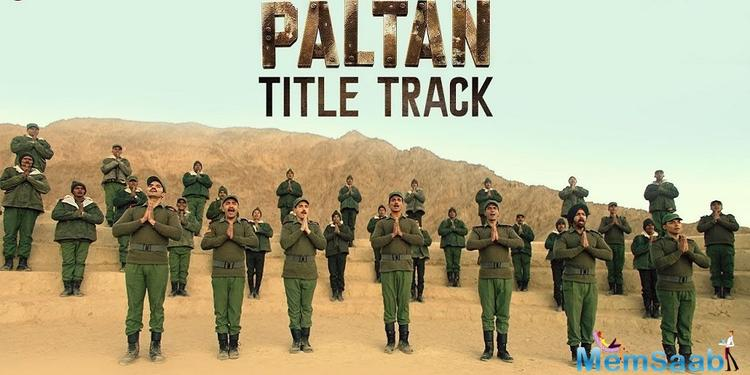 Zee Studios and J P Dutta films upcoming war drama Paltan starring an ensemble cast of Arjun Rampal, Sonu Soon, Gurmeet, Harshvardhan Rane and Siddhant Kapoor amongst others, Paltan will complete India's biggest war trilogy.