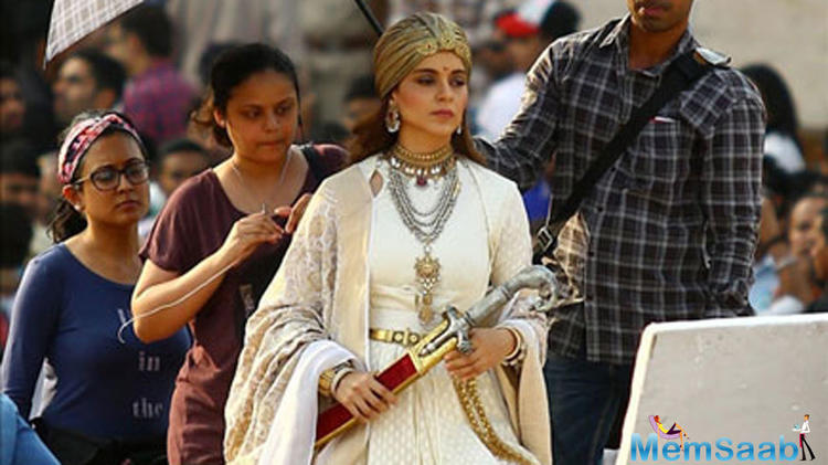 The makers released the poster of Manikarnika: The Queen Of Jhansi today to honour the warrior queen who was part of India's freedom struggle.