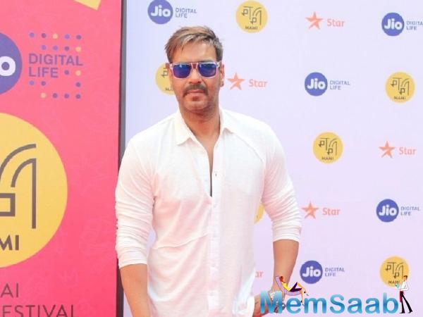 De De Pyaar De also stars Tabu and Rakul Preet Singh. Devgn is also attached to work in Luv Ranjan's next directorial.