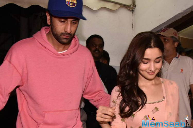 Talking about marriage being on cards with Alia, he stated,