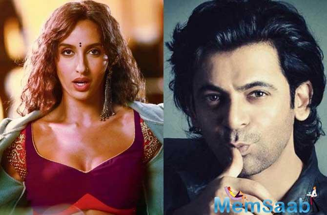 If sources are to be believed, Sunil Grover will romance with Nora Fatehi in Salman Khan-starrer Bharat.