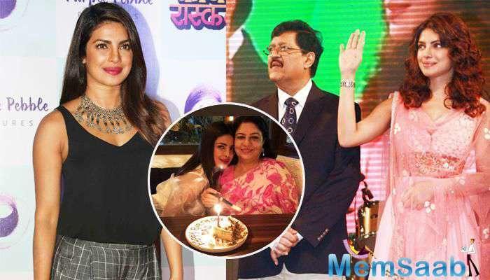 'Daddy's lil girl' Priyanka Chopra celebrated her late father Dr Ashok Chopra's birthday by stepping out for a dinner outing with mom Madhu Chopra.
