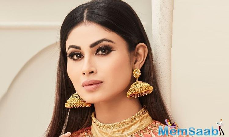 Though she has over nine years of experience on the small screen, Mouni still felt like a beginner when she started working on
