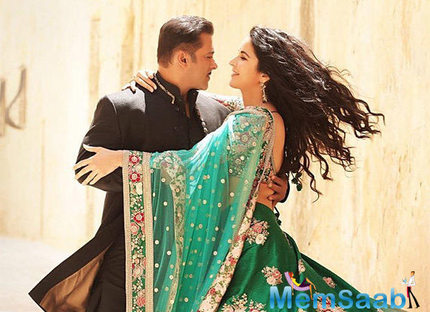 To keep the buzz around the film alive, the team of 'Bharat' has been keeping fans abreast with all the happenings from the movie sets.