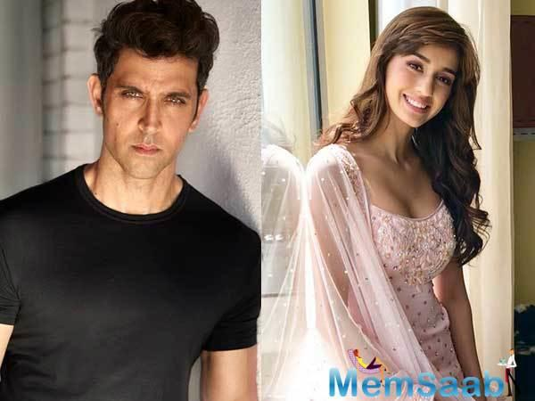 Disha Patani has rubbished reports claiming that Hrithik Roshan flirted with her, calling the superstar a dignified person