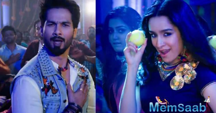 'Hard Hard' shows Shahid Kapoor and Shraddha Kapoor's romance in a way that's not too cheesy and in fact will make you celebrate the love with dance and cuteness.