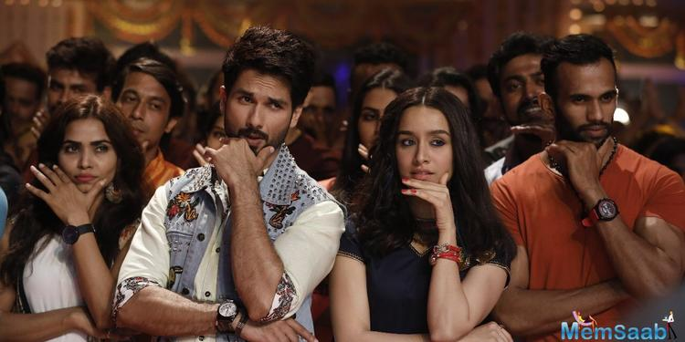 Shahid Kapoor and Shraddha Kapoor's crazy chemistry has already intrigued many in 'Gold Tamba' but wait till you see their movie 'Batti Gul Meter Chalu's latest song 'Hard Hard'.