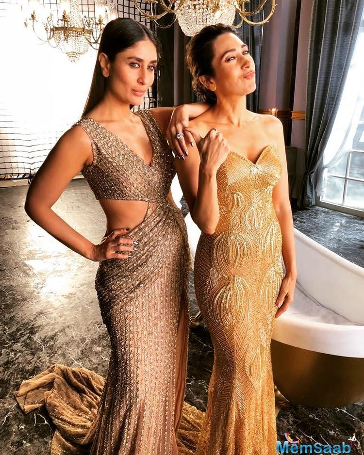 Kareena Kapoor Khan's stylist too shared the picture on her Instagram account, and it has already taken the web by the storm!