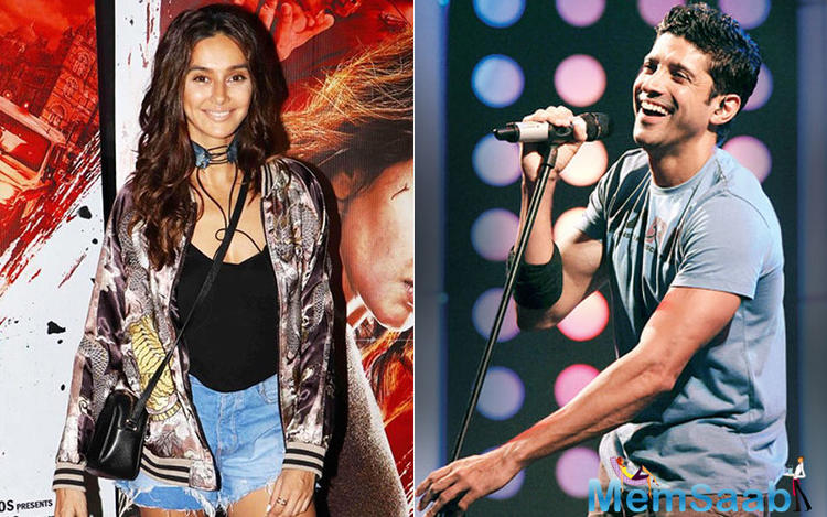 There has been hushed whispers about Farhan Akhtar's bonding with Shibani Dandekar.