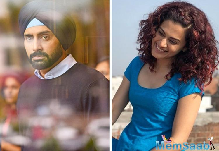 After a brief sabbatical from films, Abhishek Bachchan is returning with 'Manmarziyaan', and his co-star Taapsee Pannu calls the actor's decision to take a break extremely 'brave and courageous.'