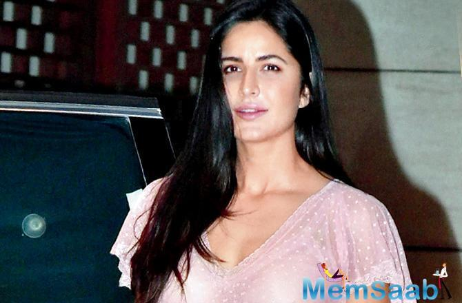 While 'Bharat' went on floors in July, Katrina began her first schedule last week.