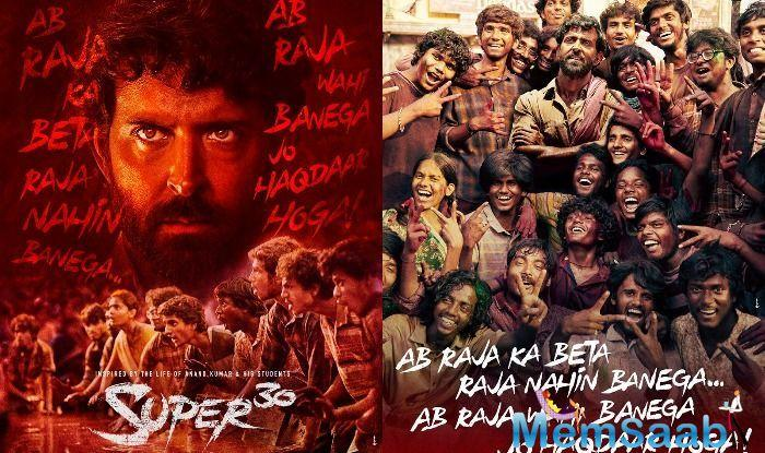 The actor who will be seen playing a Math teacher in IIT-JEE fame math wizard Anand Kumar's biopic, unveiled the posters of Super 30.
