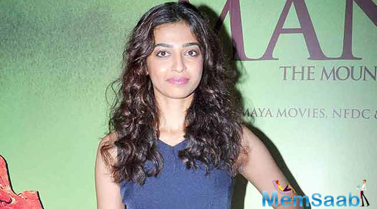 Radhika Apte ups the glam quotient in a promotional song of her upcoming film, Andhadhun.