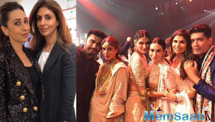 But now, it seems those wounds have finally healed. A conclusion supported by the fact that Karisma attended the inauguration of Abhishek's sister Shweta's clothing line in Mumbai last week.