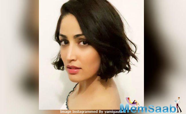 Yami Gautam, who is busy promoting her upcoming film Batti Gul Meter Chalu, is sporting a new look these days. She has had her hair cut short for Uri, in which she plays an intelligence officer.