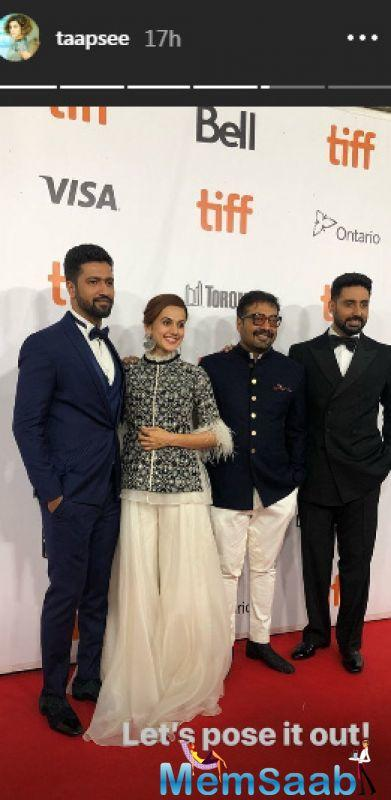 It was, as always is the case when a star-driven vehicle from the Mumbai movie industry is unveiled in North America's leading film festival, a celebratory occasion.