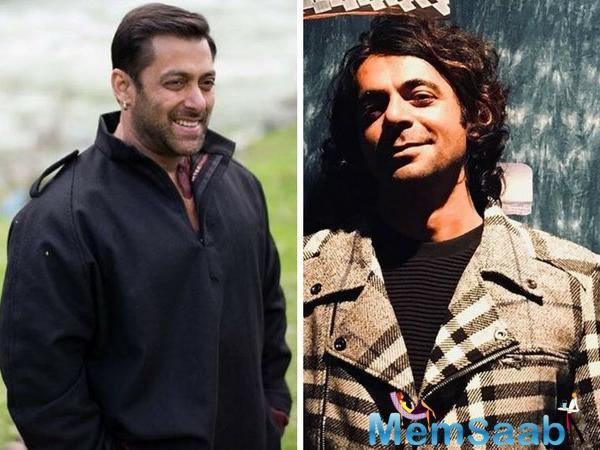 Sunil Grover says Salman Khan is an inspirational figure, and he is excited to work with the superstar in Bharat.