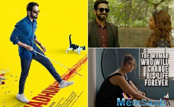 Tabu, Ayushmann Khurrana next will be seen in AndhaDhun, which is a mystery thriller film directed by Sriram Raghavan.