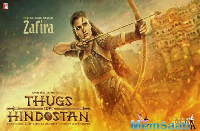 Yash Raj Films' Thugs of Hindostan promises to present the audience a jaw-dropping, larger than life, never seen before visual extravaganza.