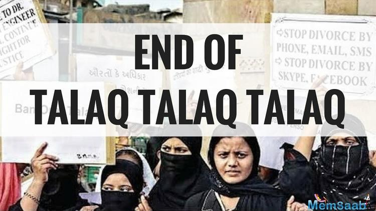 On Wednesday, the Union Cabinet cleared the ordinance of making Triple Talaq a punishable offence and the words out of applause started pouring in, on the various platforms including social media.