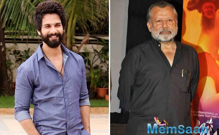 Shahid Kapoor says he seeks inspiration from his father Pankaj Kapur, and thinks he can never match up to the veteran actor's level.