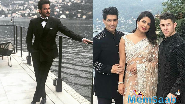 The list of guests included Priyanka Chopra and fiance Nick Jonas, along with Anil Kapoor, Manish Malhotra, among others.