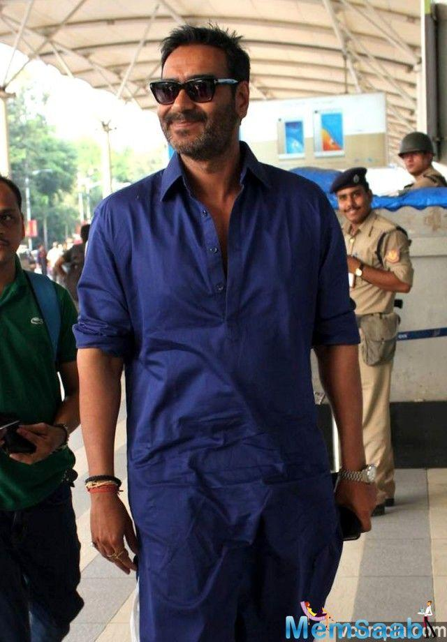 Ajay Devgn kick-started the shooting of his upcoming action-thriller 'Taanaji: The Unsung Warrior' today.