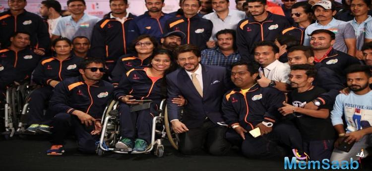 The occasion saw the presence of more than 190 para athletes including Deepa, the first Indian woman to win a medal in Paralympic Games and Para high jumper, Varun Bhatti.