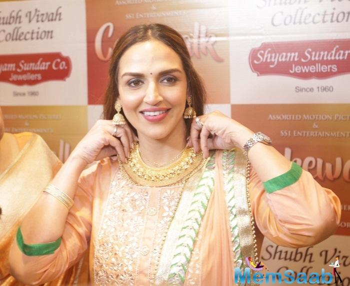 Esha Deol returns to the stage with the dance ballet Ramayan.