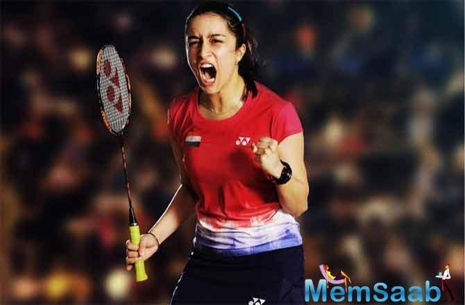 After months of preparation and hard work, Shraddha has developed the fiery spirit of Saina Nehwal- and she is out to win!