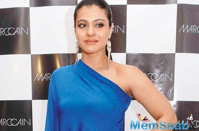 The actress added that she told her mother Tanuja -- a veteran actress -- that she wanted a